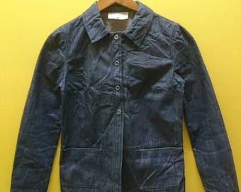 Vintage Marc Jacobs LOOK Denim Jacket Rare