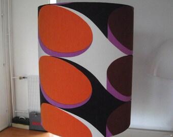 Shade - day seventies brown orange Checker pattern