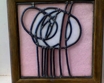 Copy of a CR Mackintosh panel