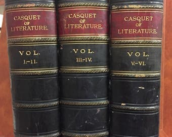 The Casquet of Literature in six volumes