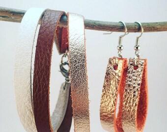 Bracelet and Teardrop Earring Jewelry Set, Jewelry Set, Custom Jewelry, Custom Jewelry Set