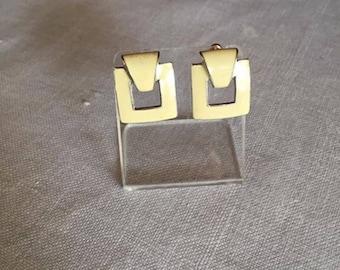 Fernando Enamel Earrings