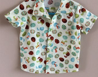 Boys summer shirt For 18 months to 2 years