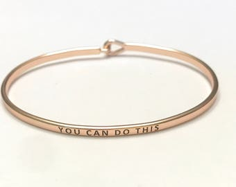 Inspired bangle bracelel( you can do This )
