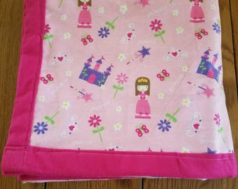 Toddler Blanket (Princess theme)