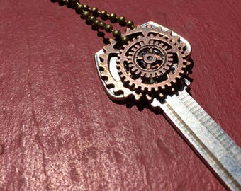 Gear Stacked Necklace