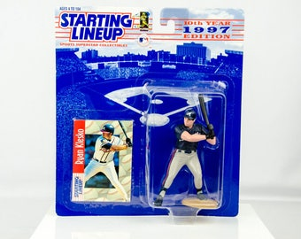 Starting Lineup Baseball 1997 Series Ryan Klesko Action Figure Atlanta Braves