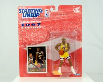 Starting Lineup NBA 1997 Nick Van Exel Action Figure LA Lakers