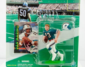 Starting Lineup NFL 1999 Dan Marino Action Figure Miami Dolphins