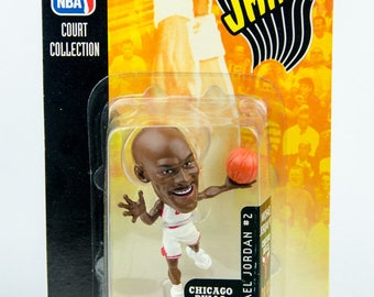 Mattel NBA Jams Court Collection Michael Jordan Figure Chicago Bulls # 2