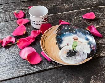 "Porcelain plate ""Little Prince"""