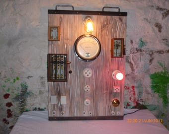 Industrial electric table industrial table lamp