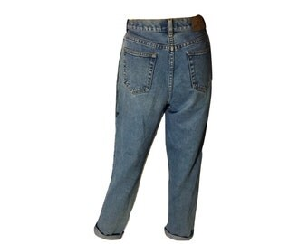 Vintage Ralph Lauren High Waisted Jeans, Lauren Jeans Green Label, Vintage High Waisted Jeans