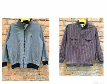 COMBO Lot of 2 Vintage Woolrich Jacket Same Large size Very Good Condition full zipp and button