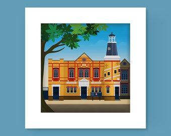 The Lighthouse Methodist Church, Walthamstow Print