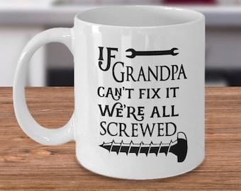 Grandpa Mug - Grandpa Coffee Mug - Funny Grandpa Cup - New Grandpa - Grandparents Mug - Papa Mug - Grandfather Present