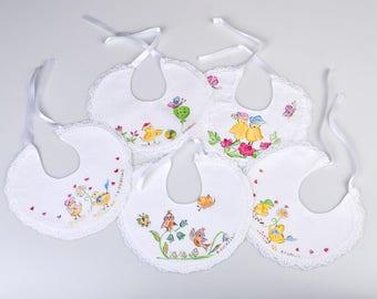Baby onesies, bibs for children