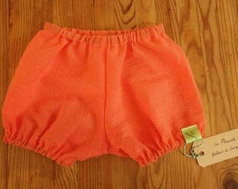 Very light coral satin bloomers