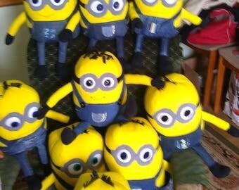 minions, minions, mascots of the minions, minions hand made