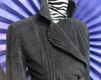 Vintage Velvet overcoat and Animalier liner