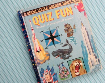 Quiz Fun Hundreds of Questions and Answers - A Giant Little Golden Book