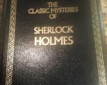 The Classic Mysteries of Sherlock Holmes by Arthur Conan Doyle, 1992 Hardcover Sherlockian