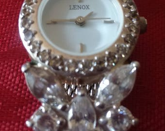 Lenox Crystal Butterfly Watch