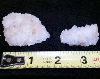 Druzy Quartz Crystal Cluster