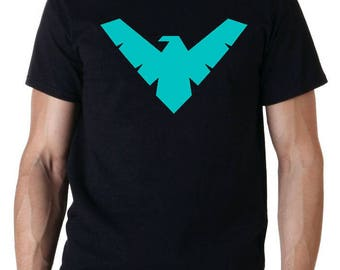 Nightwing Robin Batman superhero DC comic T-Shirt