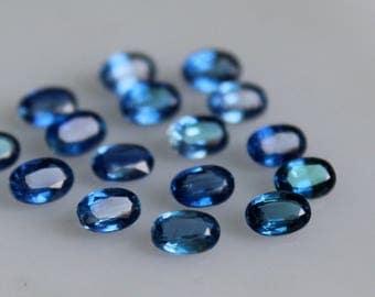 Natural Kyanite Oval Faceted 4x6 MM Top Quality-Natural Kyanite Gemstones