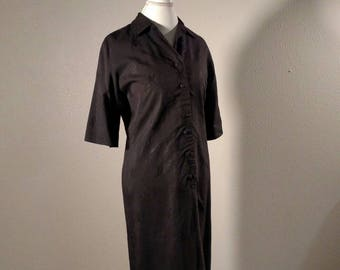 Vintage 60's Mod Chinese Style Shift Dress by McInerny's, Hawaii