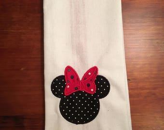 Minnie Mouse Tea Towel