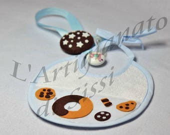 Bib Set and matching pacifier clip