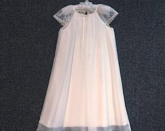 Daisy beautiful handmade silk flowergirl dress