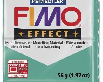 Pâte Fimo 57 g Effect Translucide Vert 8020.504 - Fimo