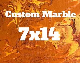 Custom Marble 7x14