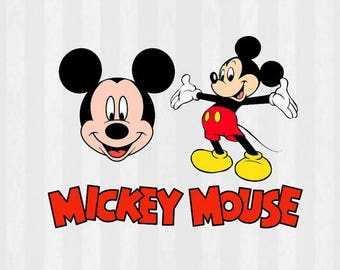 Mickey Mouse SVG, Mickey mouse download, svg cutting file, .SVG for Silhouette or Cricut, svg mickey mouse, disney svg, mickey svg