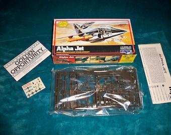 1/72 scale model Alpha Jet light strike aircraft