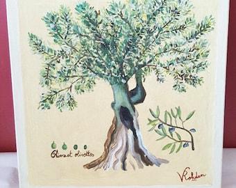 Olive Tree - Original Oil Painting
