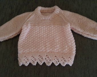 Jumper, Sweater, Children, Hand Made, Hand Crafted