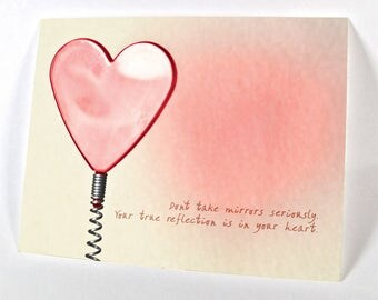 Your True Reflexion Is In Your Heart…
