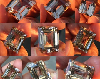Champagne Topaz from Pakistan