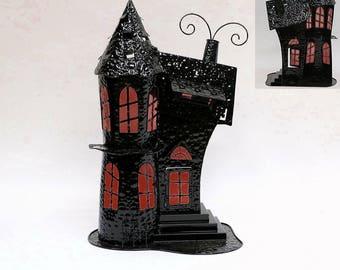Haunted Mansion Halloween tea light holder