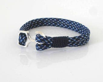 Bracelet - Navy collection sailor Bspec Camo Paracord with anchor clasp