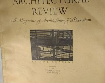 Architectural Review July 1936