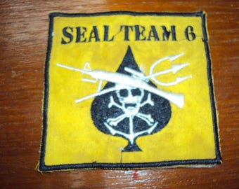US Navy Seal Team 6 Vietnam Military Patch