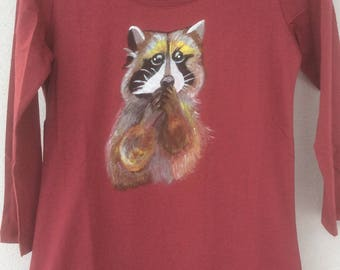Painted t-shirt, size S
