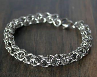"7.5"" Captive Ring Bracelet"