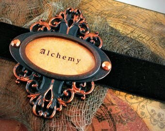 Infuse your prose with mystery and express yourself artfully in this elegant [alchemical] journal