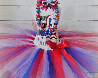 Happy 4th of July Tutu Set